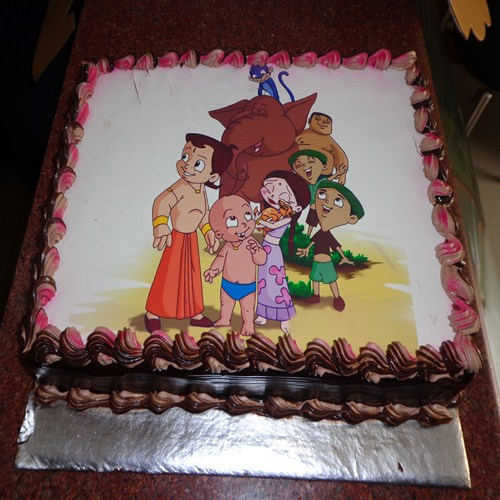 Cake Images Of Chota Bheem : Order For Chota Bheem Photo Cake From Yummycake