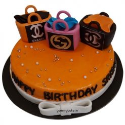 Fondant Cake for Girls