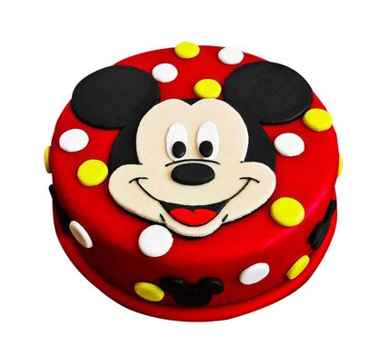Mickey Mouse Cake 1 5 Kg Inr 2199 Free Shipping Amp 100