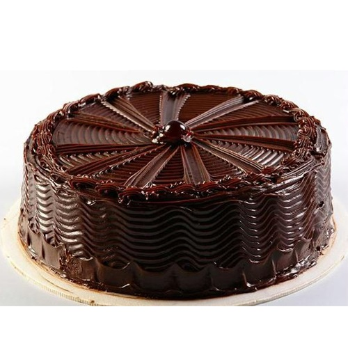Dark Chocolate Truffle Cake