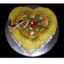 Heart Shape Fruit cake