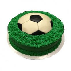 World Cup Football Cake