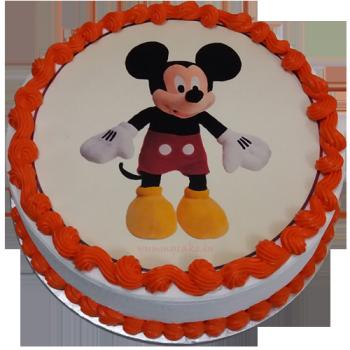 Mickey Mouse Cartoon Cake