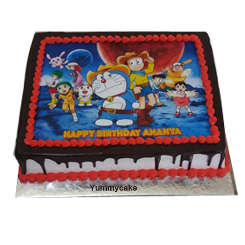 Doremon Photo cake