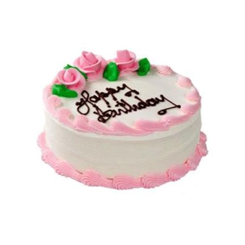 Strawberry Birthday Cake