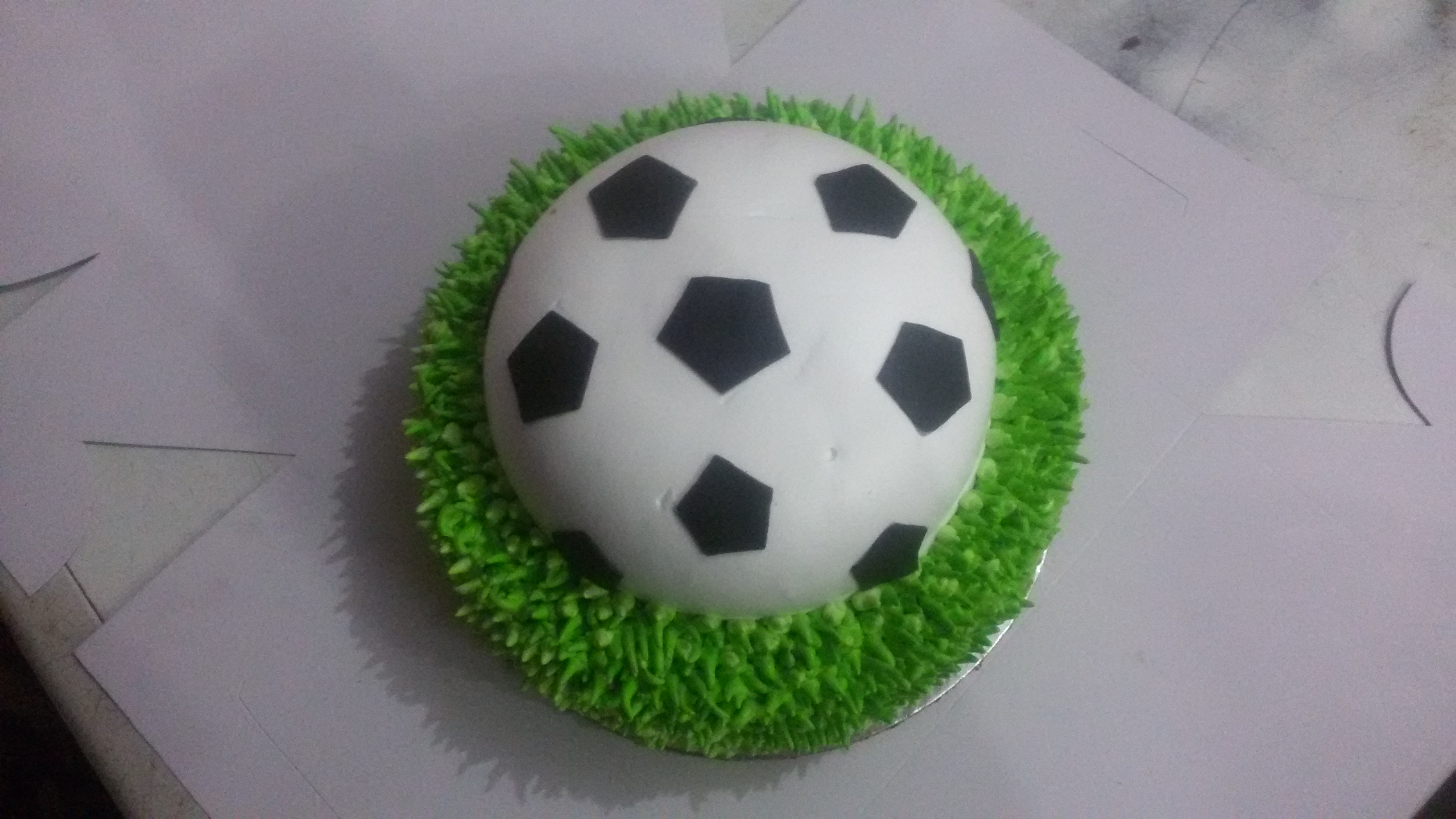 World Cup Football Cake Fifa World Cup Cake Yummycake