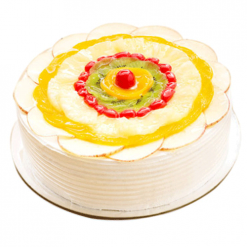 Yummy Fruits Cake