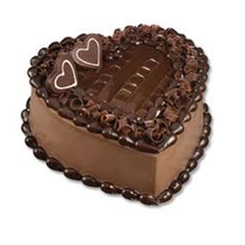 1 Kg Heart Shape Chocolate