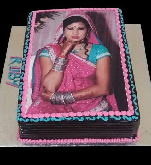 1 Kg Photo Cake Online