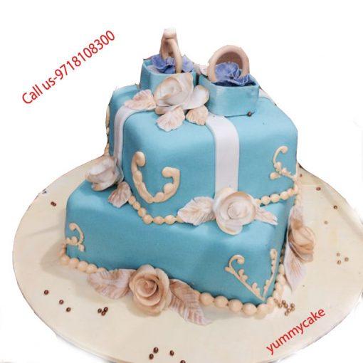 2 kg Fondant Cake