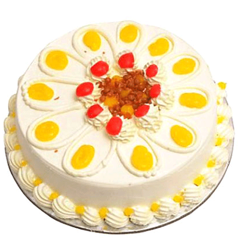 Cake Images 1 Kg : Order For Butterscotch Cake 1 kg From Yummycake at Best Price