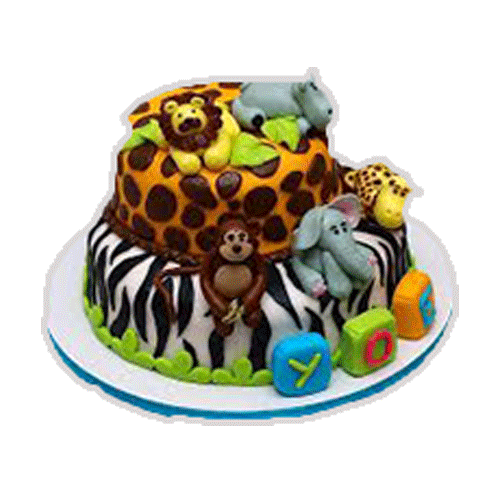 Cake Design Animal : Order For Pet & Animal Cakes From Yummycake at Best Price