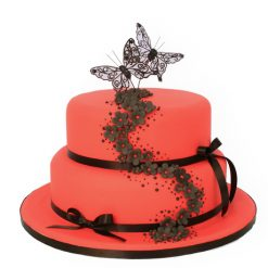 Butterfly Bouquet Cake
