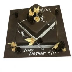 Butterfly Dreams Chocolate Cake