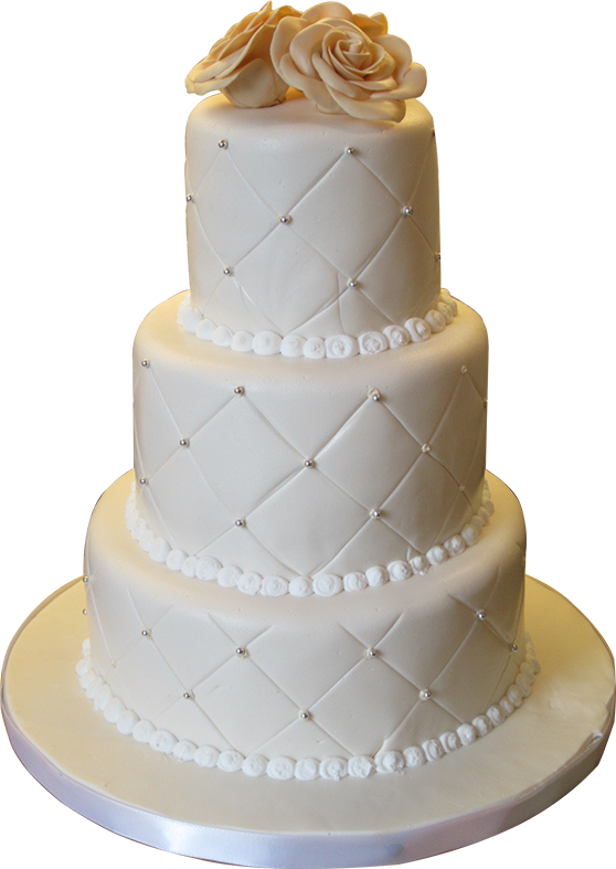 Beautiful Yummy Wedding Cake