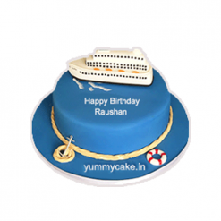 Luxury Ship Cake