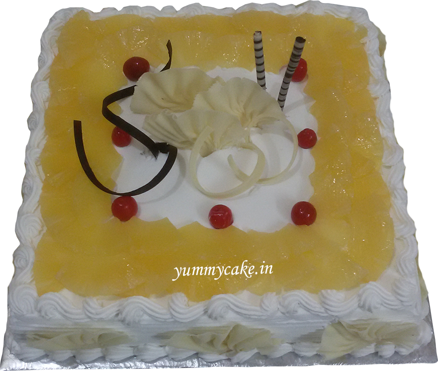 Images Of 2 Kg Cake : Order Pineapple Cake 2Kg From Yummycake at Best Price