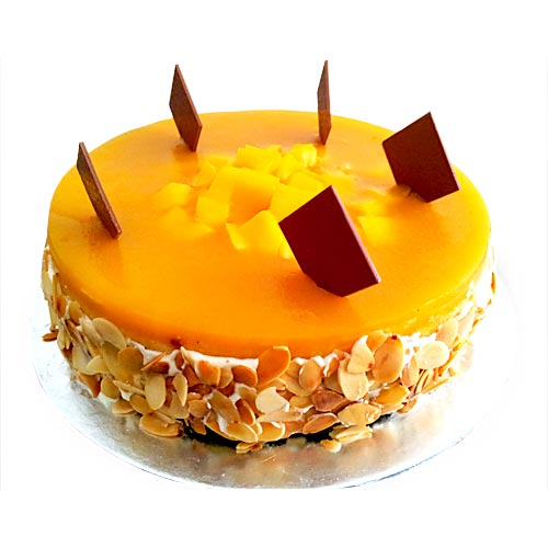 Cake Design For 1 Kg : Order For Mango cake from Yummycake, Mango Fruit Cake