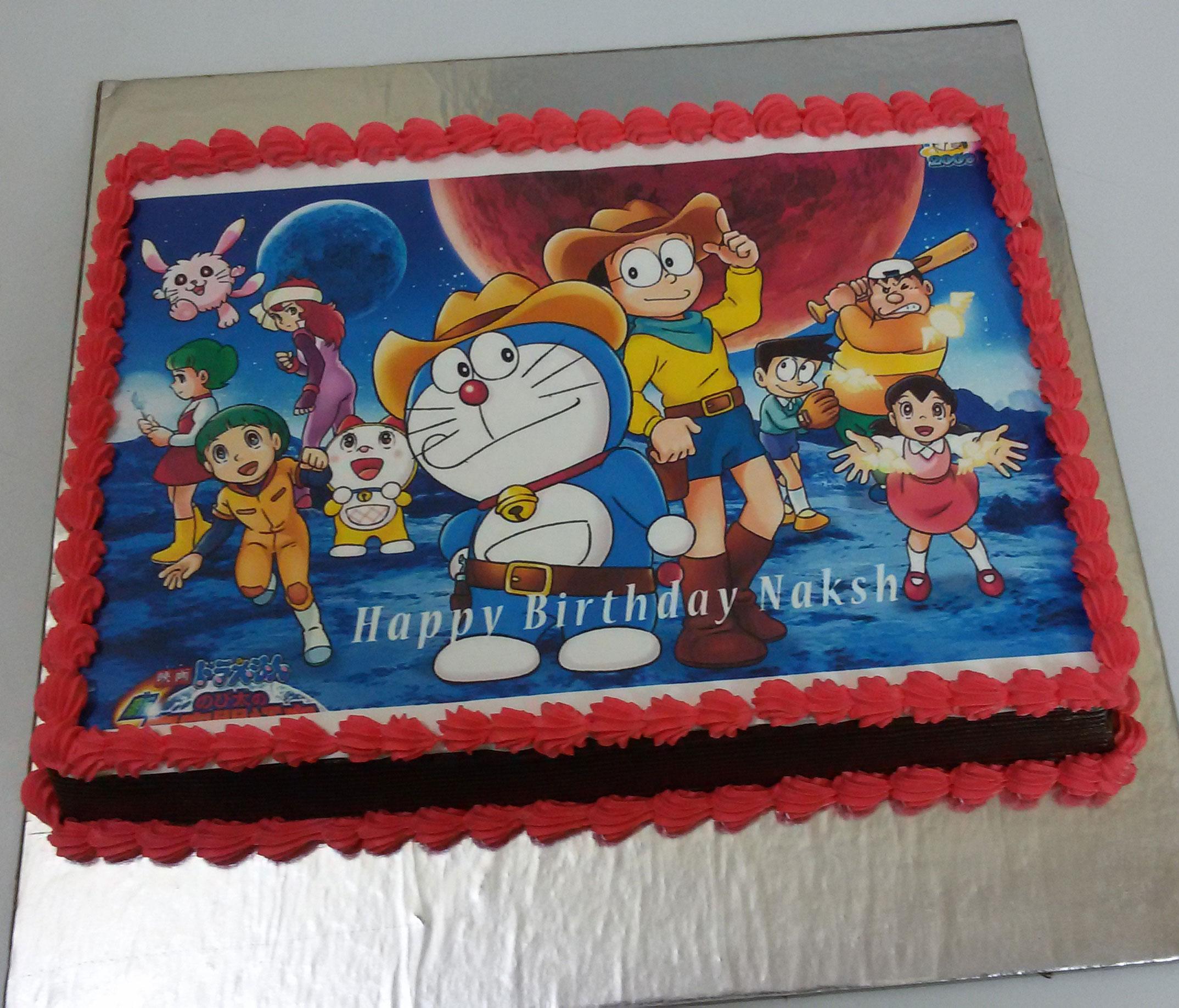 Birthday 2 Kg Cake Images : Order Doraemon Photo Cake From Yummycake at Best Price