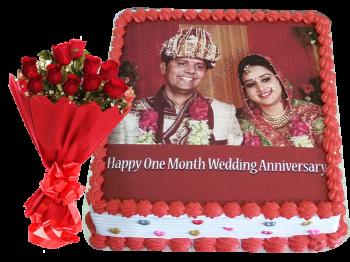 Anniversary Combo Offer Cake