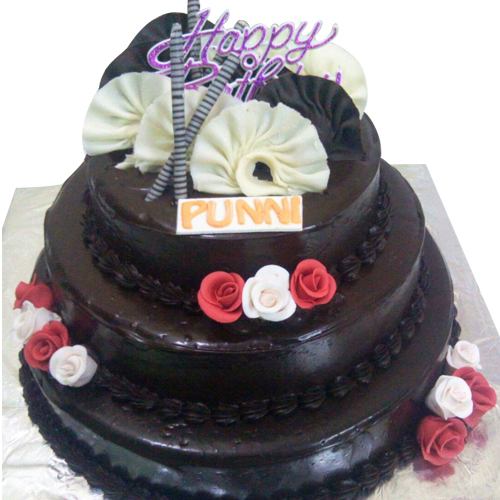 Chocolate Birthday Cake 5kg 5kg Chocolate Cake Yummycake