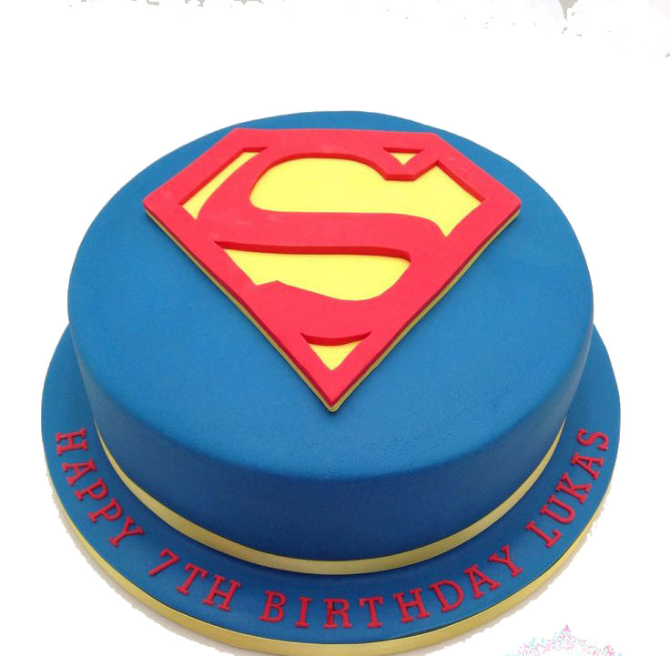 Superman Birthday Cake Pan