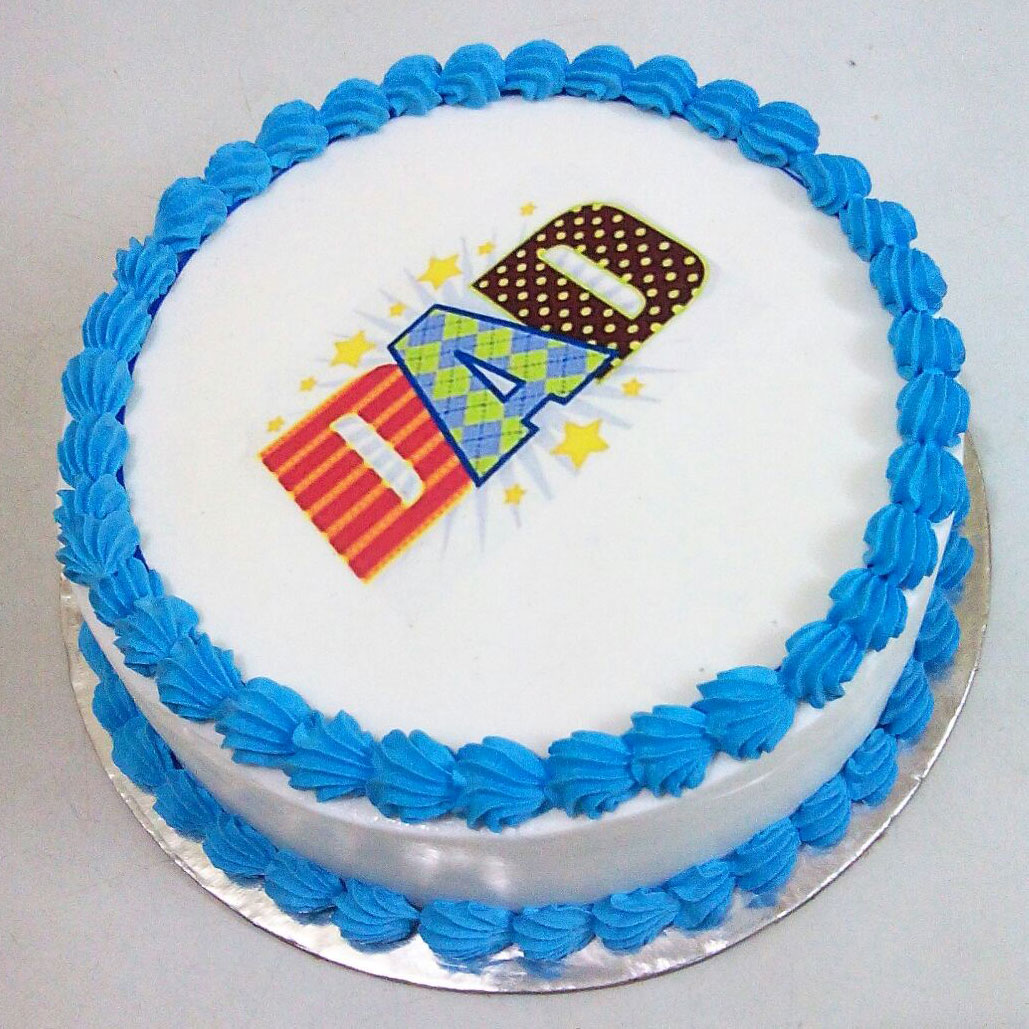 Cakes For Dad Buy Photo Cake For Dad Yummycake