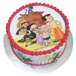 Chhota Bheem Cartoon Cake