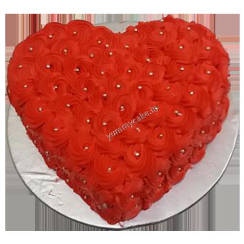 Order Heart Shape Chocolate Cake From Yummycake