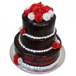 Designer Anniversary cake
