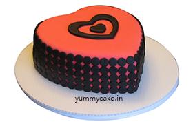 Heart Shaped Designer Cakes