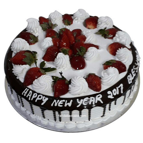 Black Forest Cake Online With Fresh Strawberries