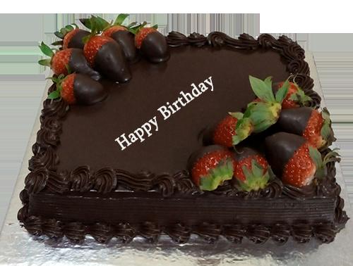 Buy Chocolate Strawberry Cake Online