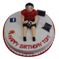 Football Cake, Football Birthday Cake