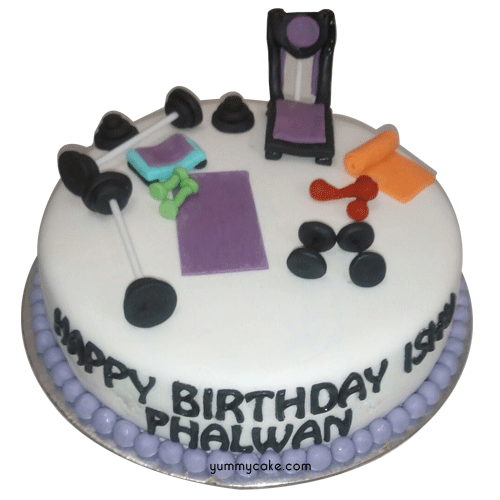 Gym Theme Birthday Cake Online Low Price Yummycake