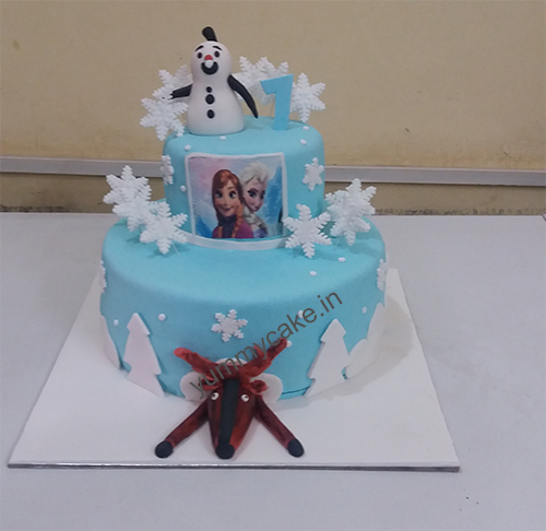 Frozen yummy cake