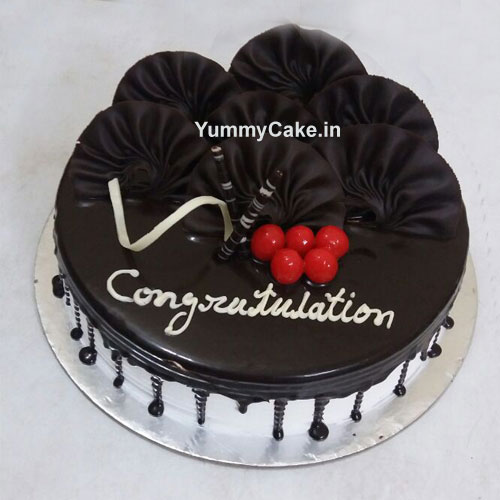 Book Your Order For Congratulations Cake From Yummycake