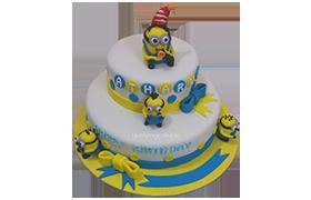 Birthday Minion Cake