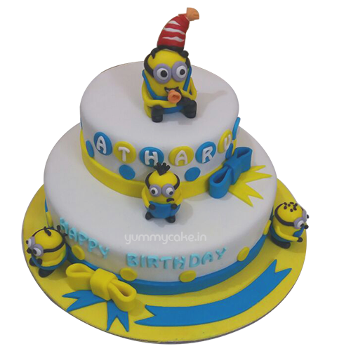Birthday Minion Cakes Online