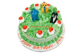 Jungle Cake, Jungle Birthday Cake