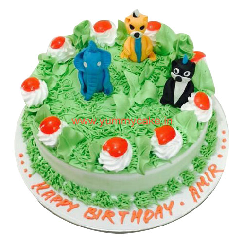 Jungle Birthday Cake Online
