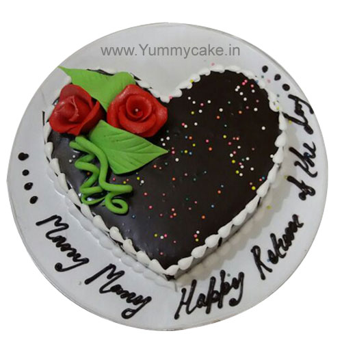 Heart Shaped Cake Online