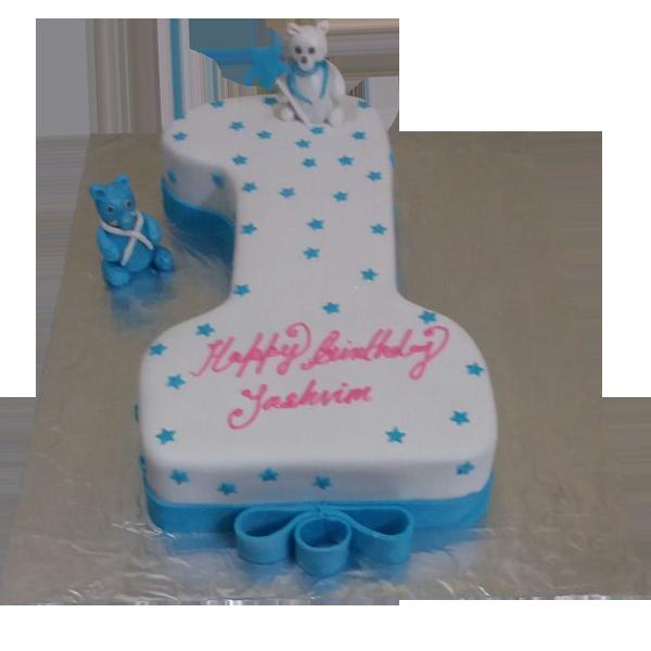 Birthday Cake Photos For 1st Birthday : Order First Birthday Cakes from Yummycake at Best Price.