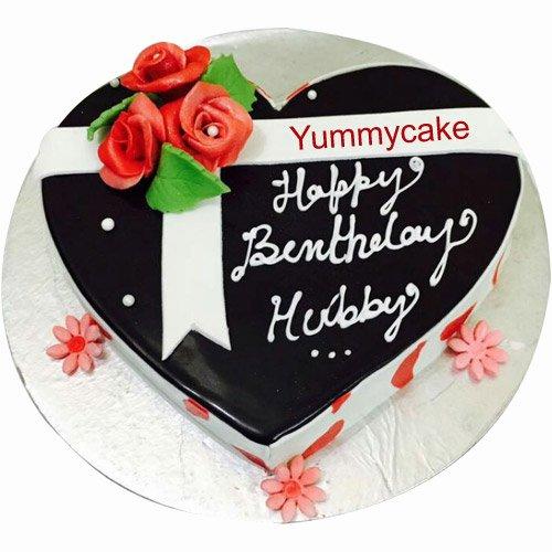 Birthday Cake Images In Heart Shape : Order Heart Shaped Birthday Cake Now YummyCake