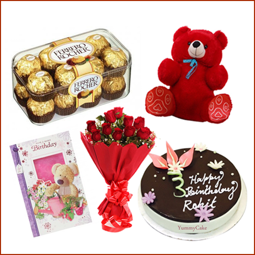 Order To Send Birthday Gifts Online From Yummycake