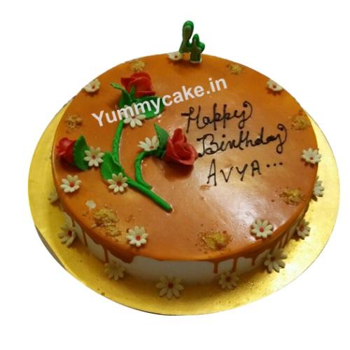 Butterscotch Cake Online Buy Butterscotch Cake Yummycake