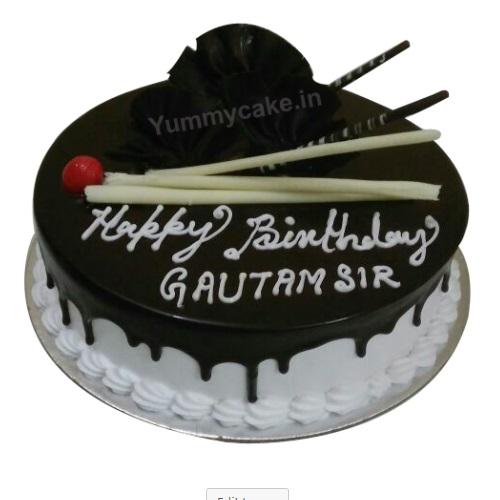 Happy Birthday Cake In Best Flavors And Design Yummycake