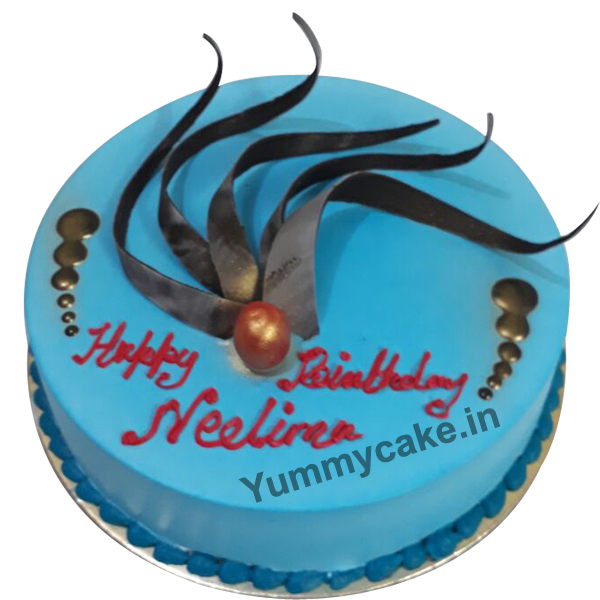 Order For Fondant Birthday Cakes Online From Yummycake