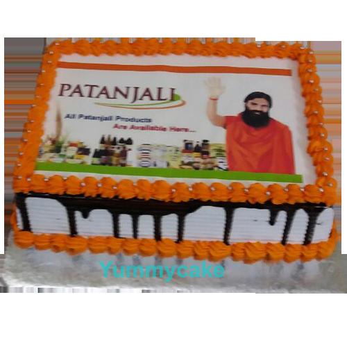 Happy Birthday Patanjali Cake