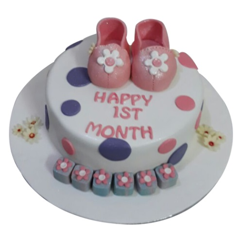 Order Baby Girl First Birthday Cake Online Yummycake
